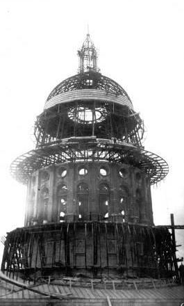 Texas-State-Capitol-Dome-Under-Construction