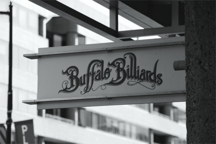 Buffalo Billiards Austin Sign