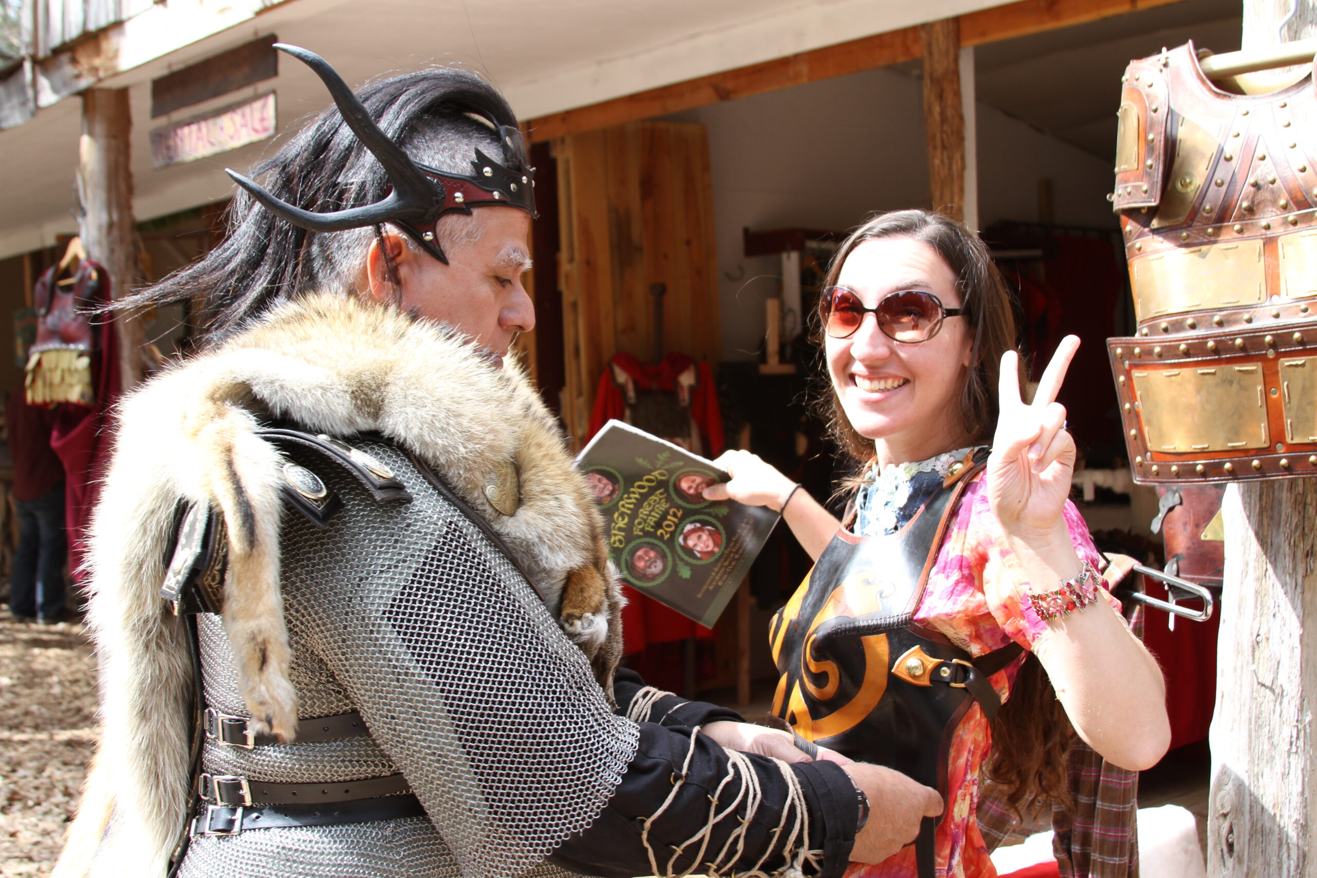 Renaissance Fairs: The Austinot Podcast Features The Sherwood Forest Faire