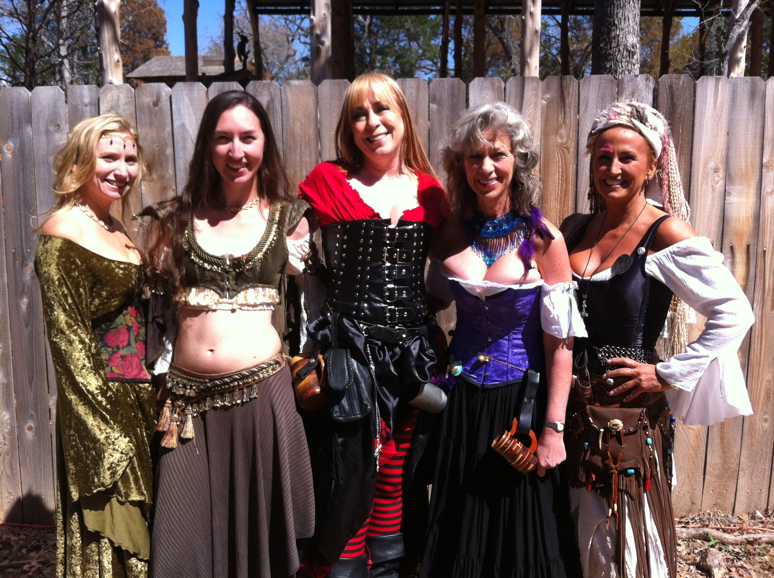 Renaissance Fairs: Sherwood Forest Camping Weekend With A Renaissance Fair Clan