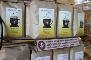 Dominican Joe Sells Fair Trade Coffee in Austin