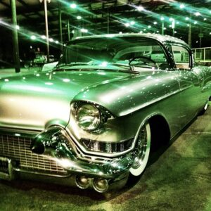 Classic Cadillac at the Lonestar Round Up in Austin Texas