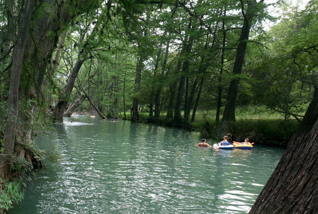 Blue Hole Regional Park in Wimberley TX
