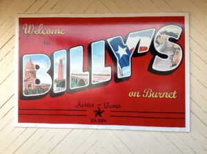 Billy's on Burnet in Austin, Texas