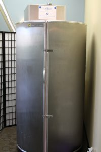 Cryotherapy chamber at CryoStudio of Austin