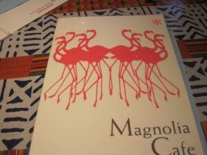 Magnolia Cafe Austin Menu with Flamingos