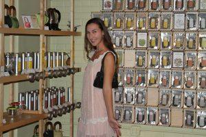 Brittany Highland at Zhi Tea in Austin