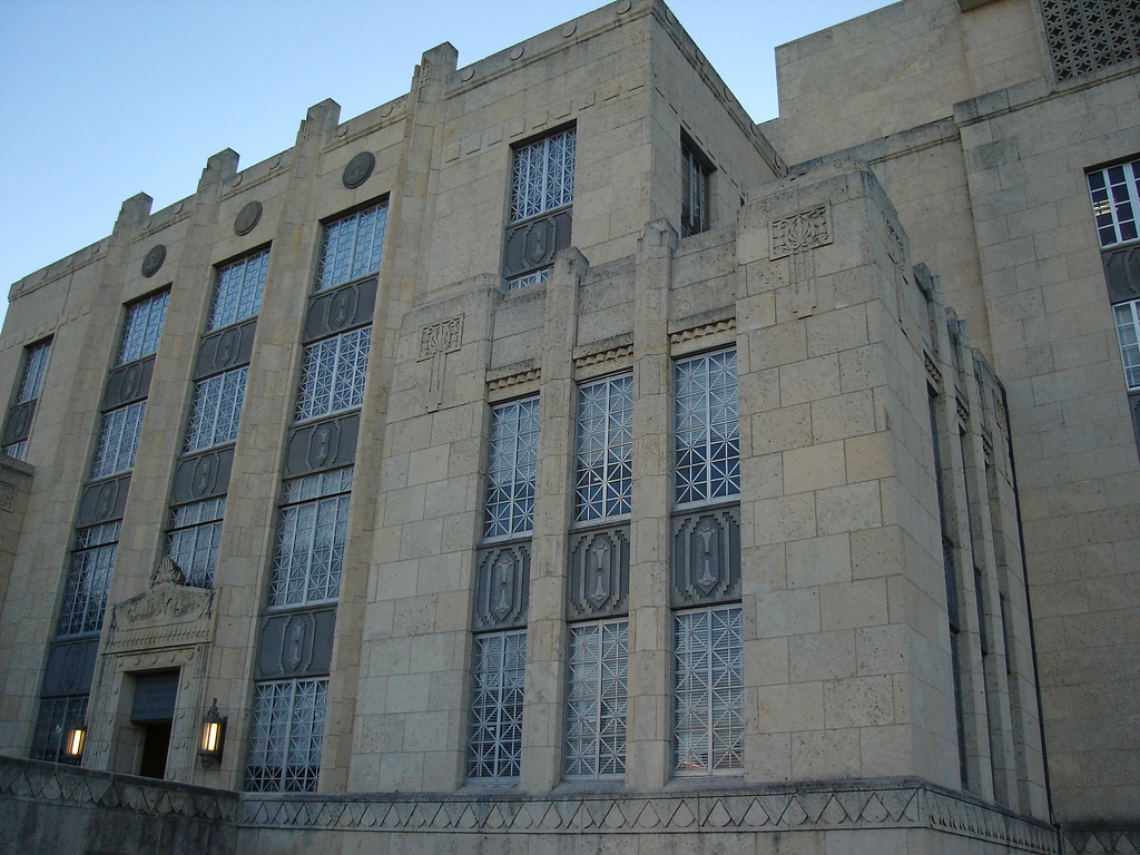 Travis County Courthouse Art Deco