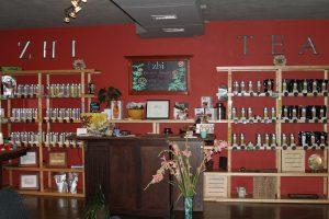 Organic tea at Zhi Tea in Austin, TX
