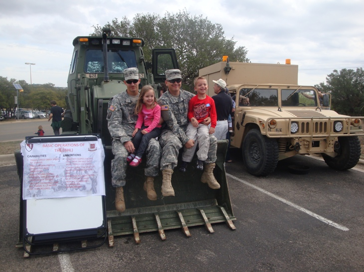 Ft. Hood soldiers participate in Touch a truck