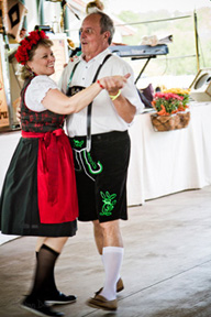 Traditional German Garb at Oktoberfest Fredericksburg TX