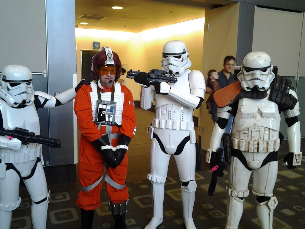 Storm Troopers at Wizard World Comic Con in Austin