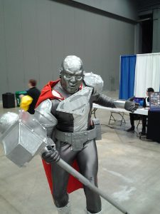 Costumed superhero at Wizard World Comic Con