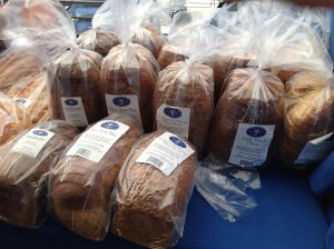 Sweetish Hill Bread at Mueller Farmers Market