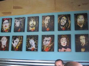 William K Stidham Art at Your Mom's Burger Bar