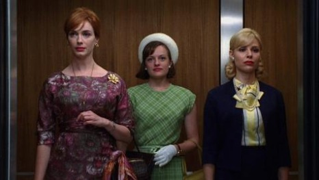 Mad Men actresses in 1960s style