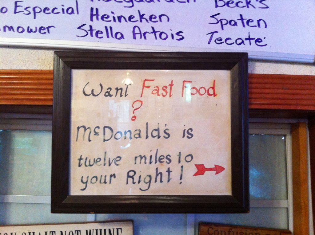 Alamo Springs Cafe recommends McDonald's