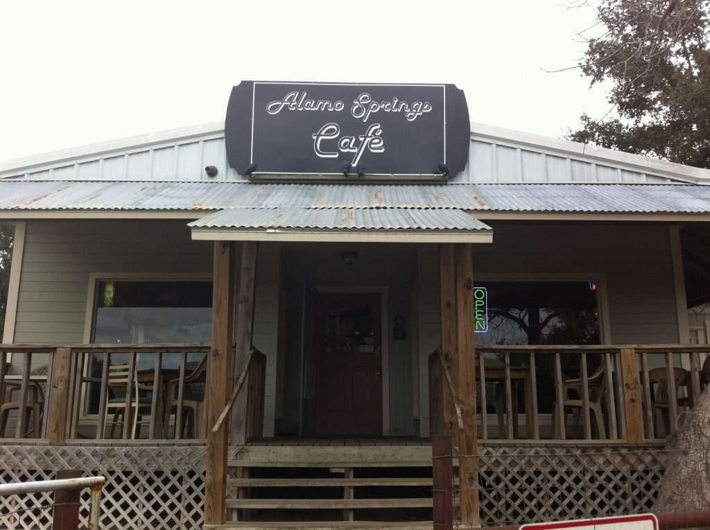 Alamo Springs Cafe Known for Best Texas Burgers