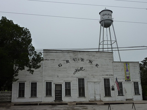 Gruene Hall in Gruene, TX