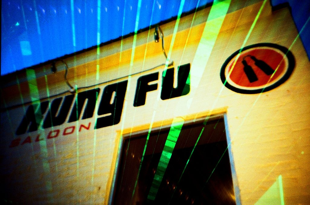 Kung Fu Saloon is located on 6th St. in Austin, TX