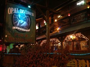 The view from the front of Opal Divines Freehouse location in Austin Texas
