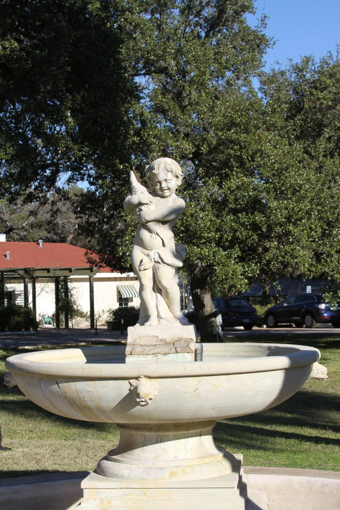 Putto Fountain at Laguna Gloria