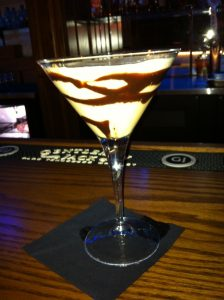 Chocolate martini at Azul Lounge in Kerrville