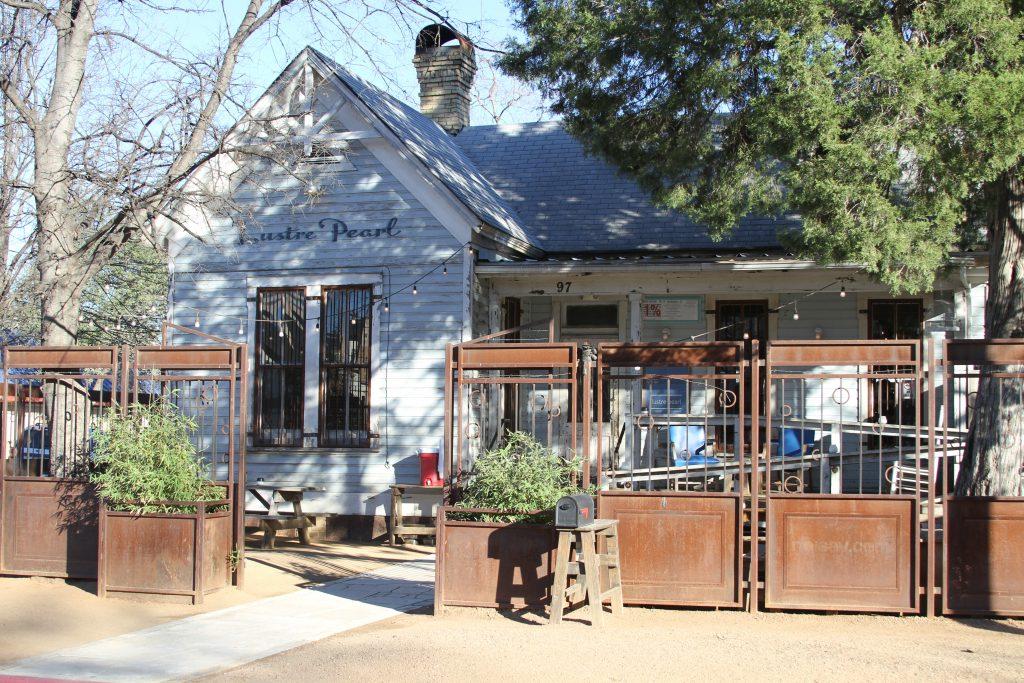Lustre Pearl Bar on Rainey Street in Austin