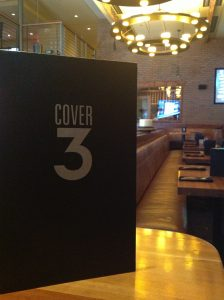 Menu at Cover 3 Austin
