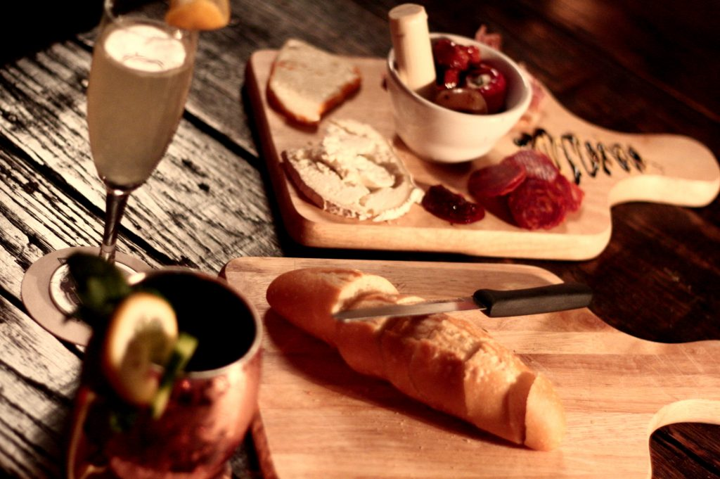 Cheese plate at Firehouse Lounge Austin