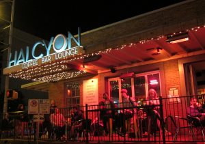 Halcyon Austin at Night