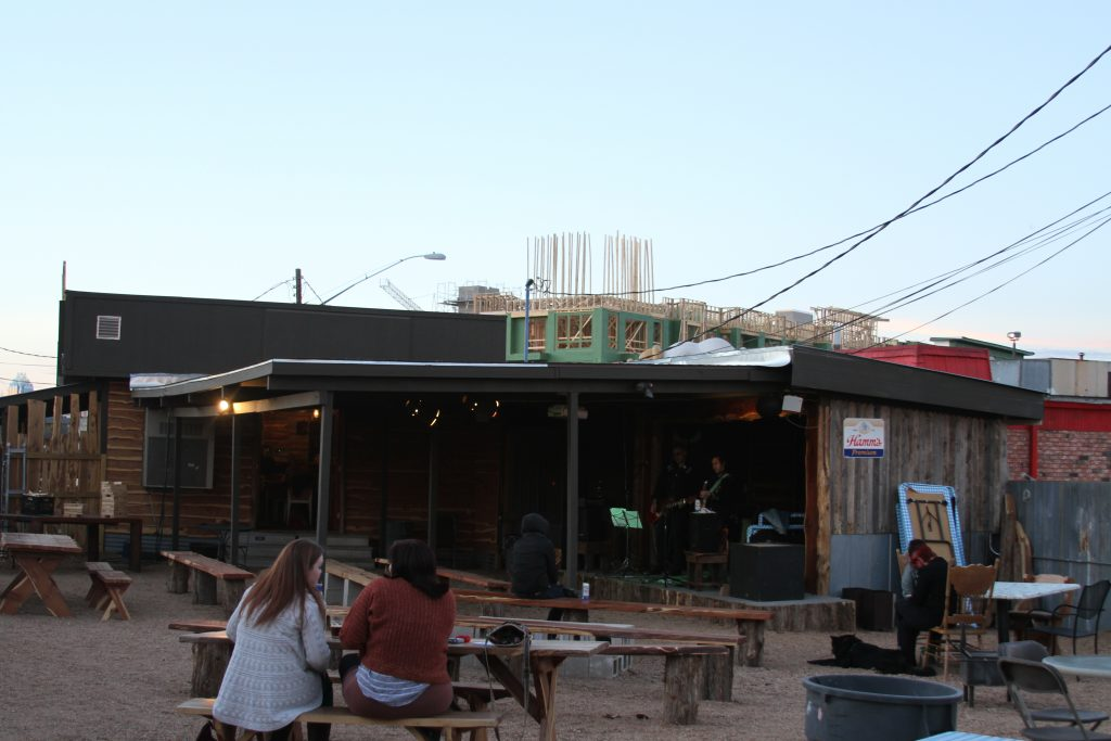 The Buzz Mill Outdoor Yard