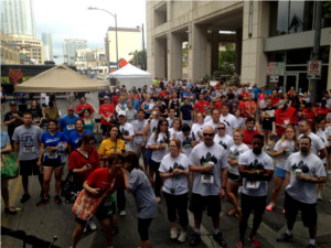 Fight for Air Climb at Frost Bank Tower