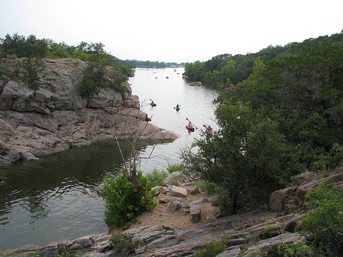 Camping for Adults at Inks Lake State Park