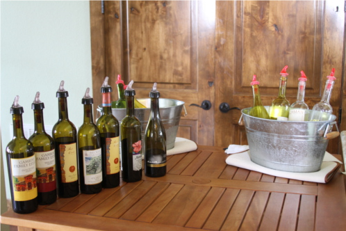 Wine Tasting at Texas Hill Country Olive Company
