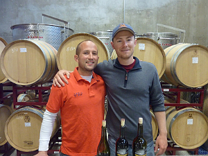 Doug Lewis and Duncan McNabb Lewis Wines