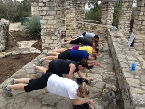 Fight for Air Climb Austin Training at Mt. Bonnell