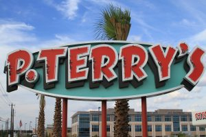 P. Terry's sign near Mopac and Parmer