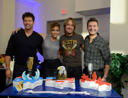 American Idol Keith Urban Cake
