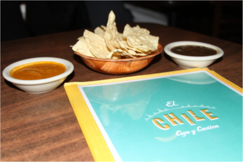 Chips and Salsa at El Chile