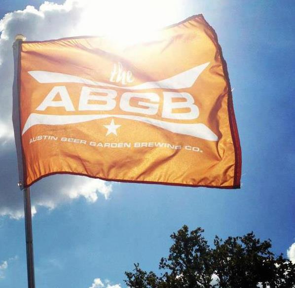 Austin Beer Garden Brewing Company Flag