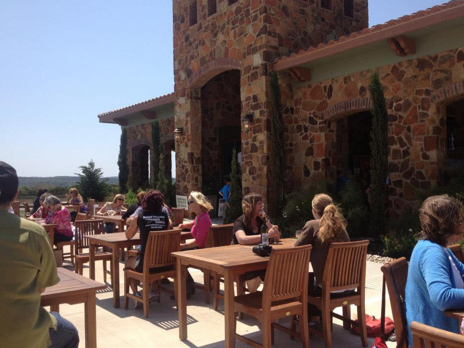 Outdoor Patio Texas Hill Country Olive Co