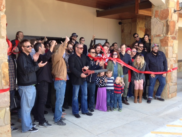 Ribbon Cutting Ceremony at Orb Recording Studios