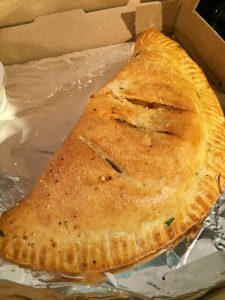 The best calzone in Austin from Milano