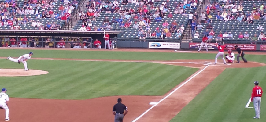 Round Rock Express Baseball Game