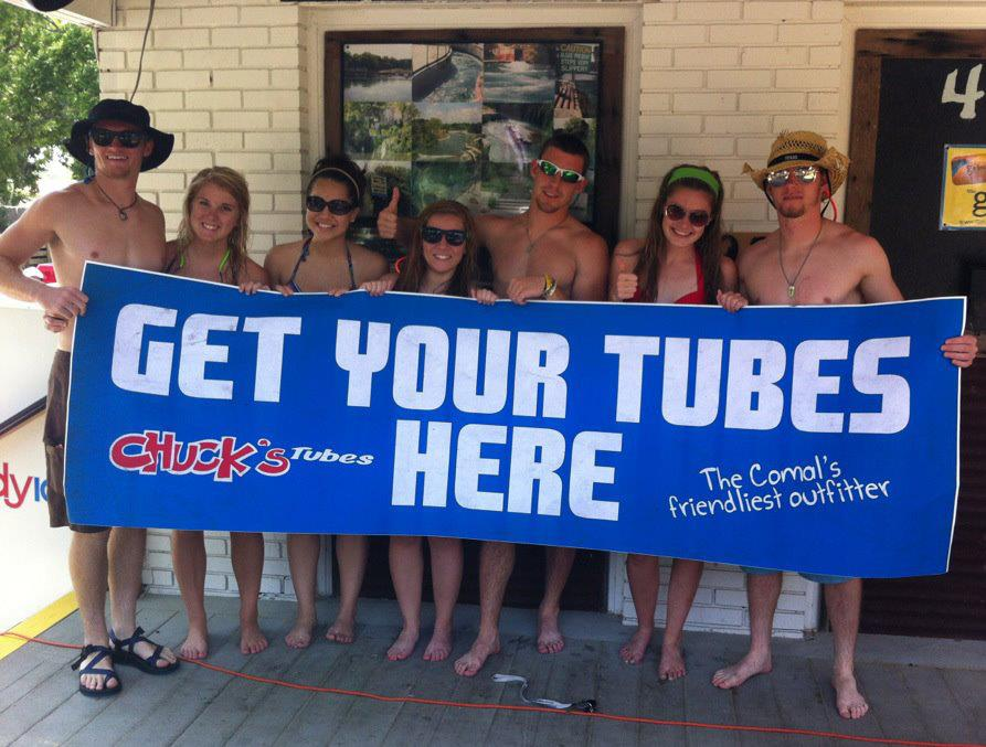 Chuck's Tubes on the Comal River