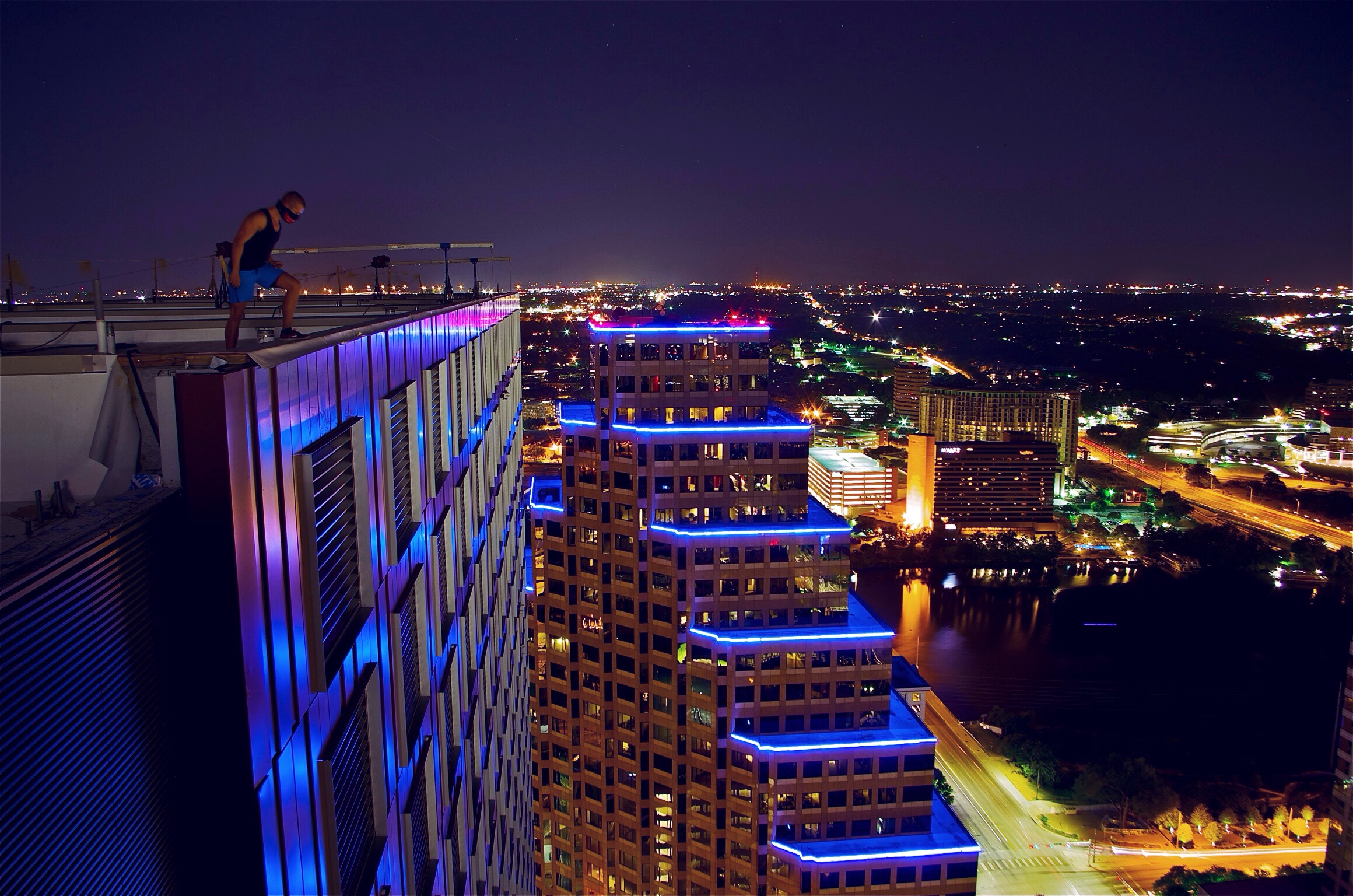 Rooftop Photos of Austin JW Marriott