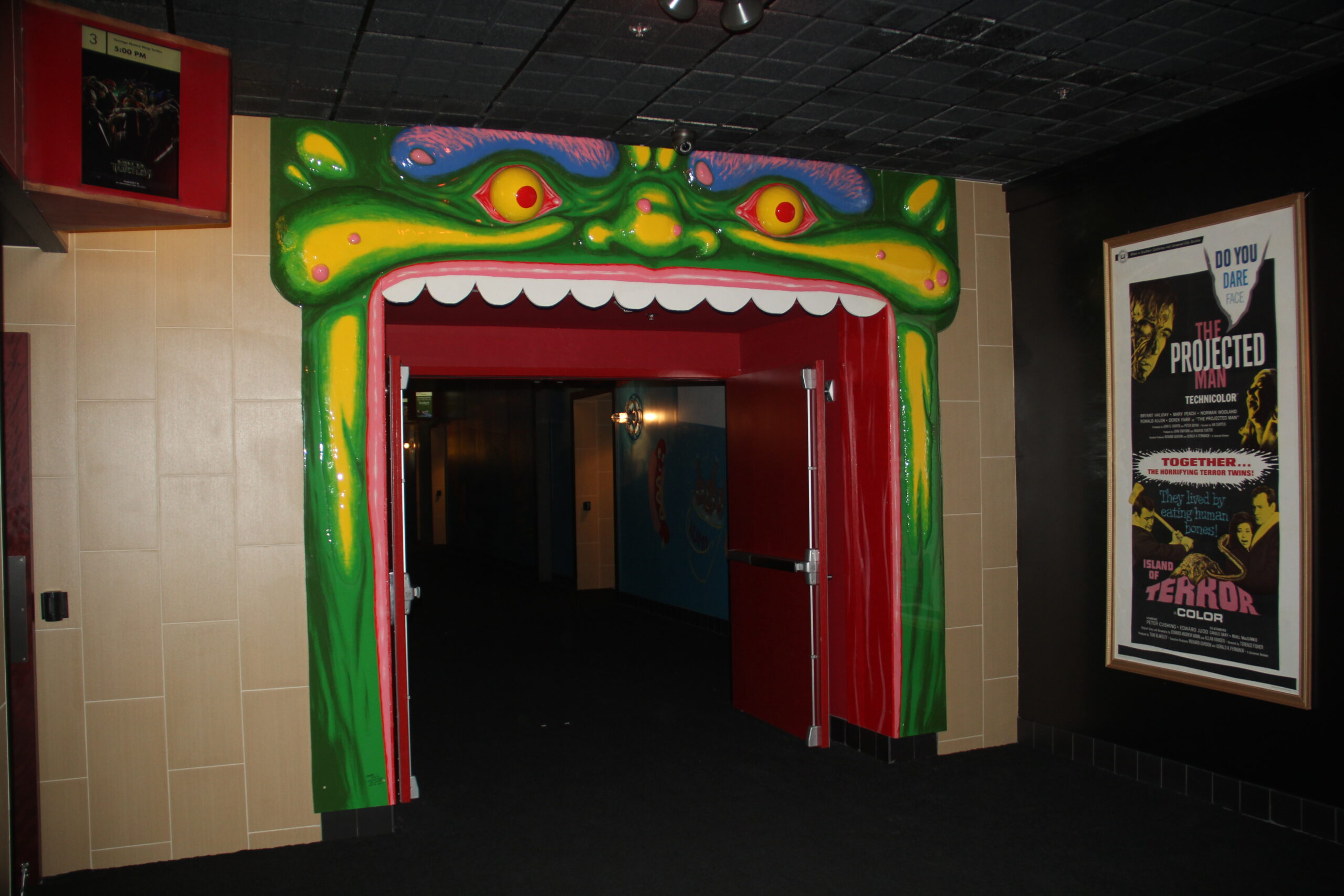 Monster Head Archway Alamo Drafthouse South Lamar