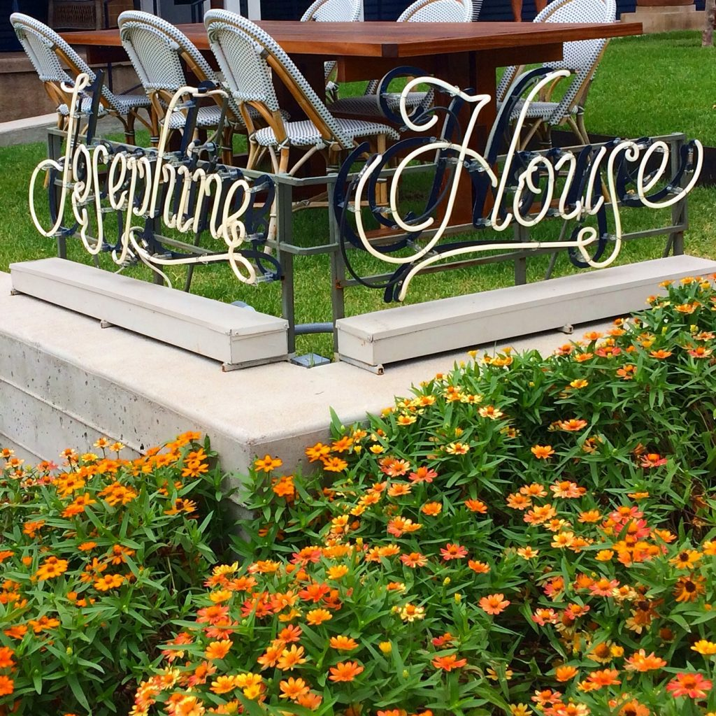 Josephine House Sign in Clarksville