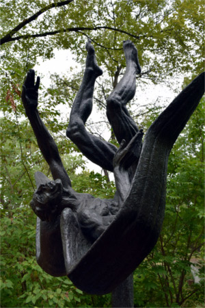 Icarus by Charles Umlauf